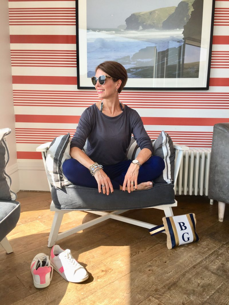 Asquith: Lounging around in the most comfortable and stylish yoga clothing